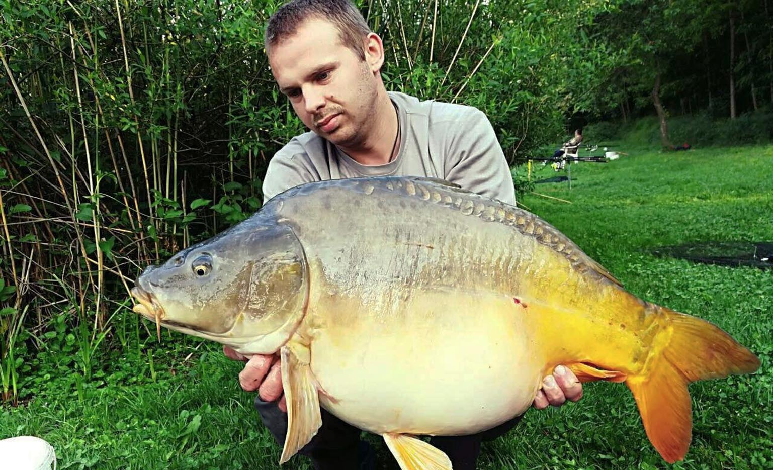 Josip Frič‎ - Field Tester - 26.4lb caught on Dynamic Washed Out Krill Boilies