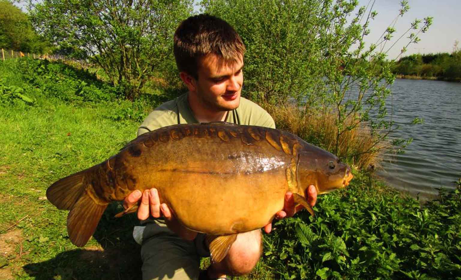 Raphan Batty - Field Tester - Caught on our Dynamic White Chocolate & Tigernut Boilies
