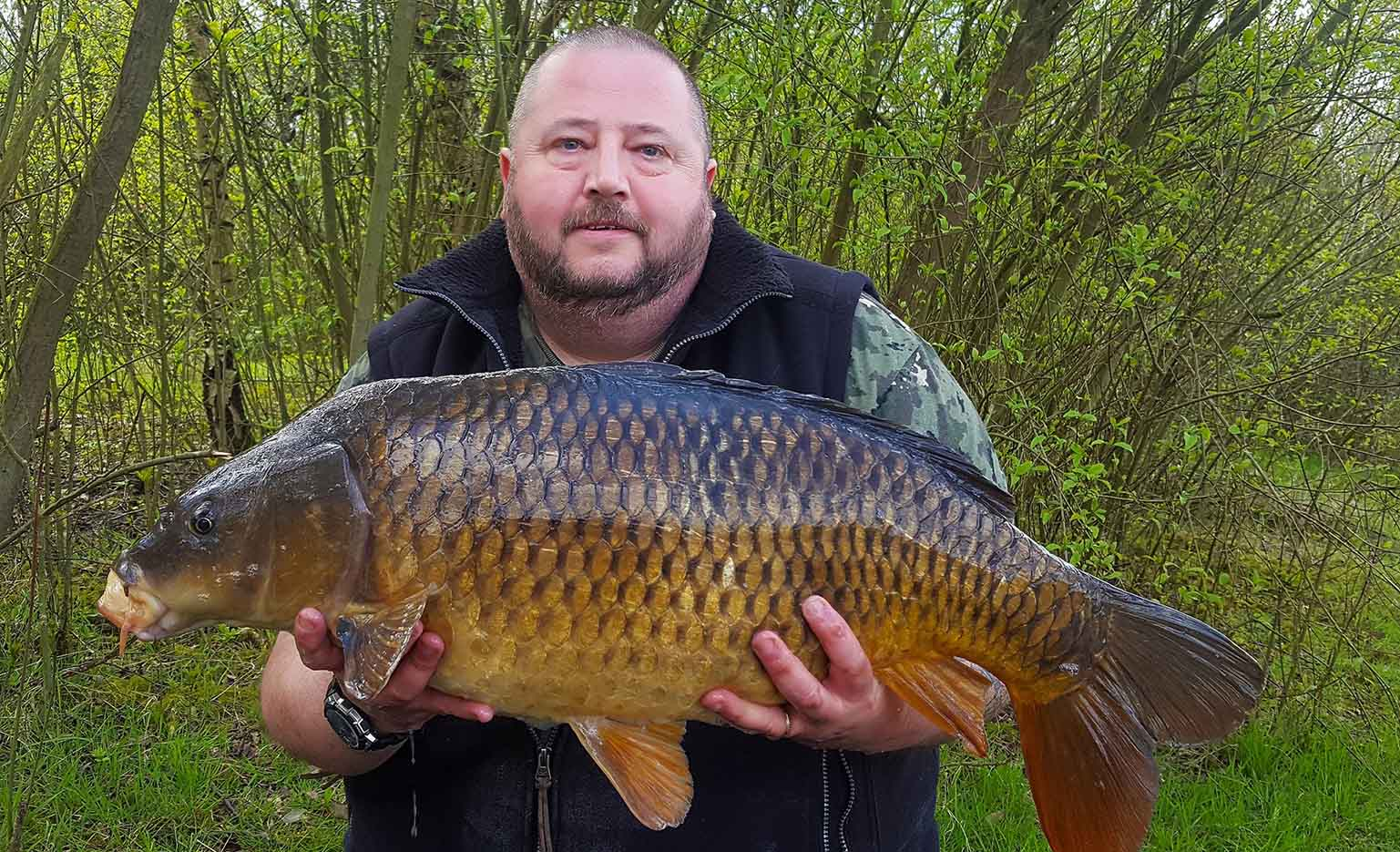 Richard Sommerset - Field Tester - Caught on our Dynamic Tuna & Sardine Boilies