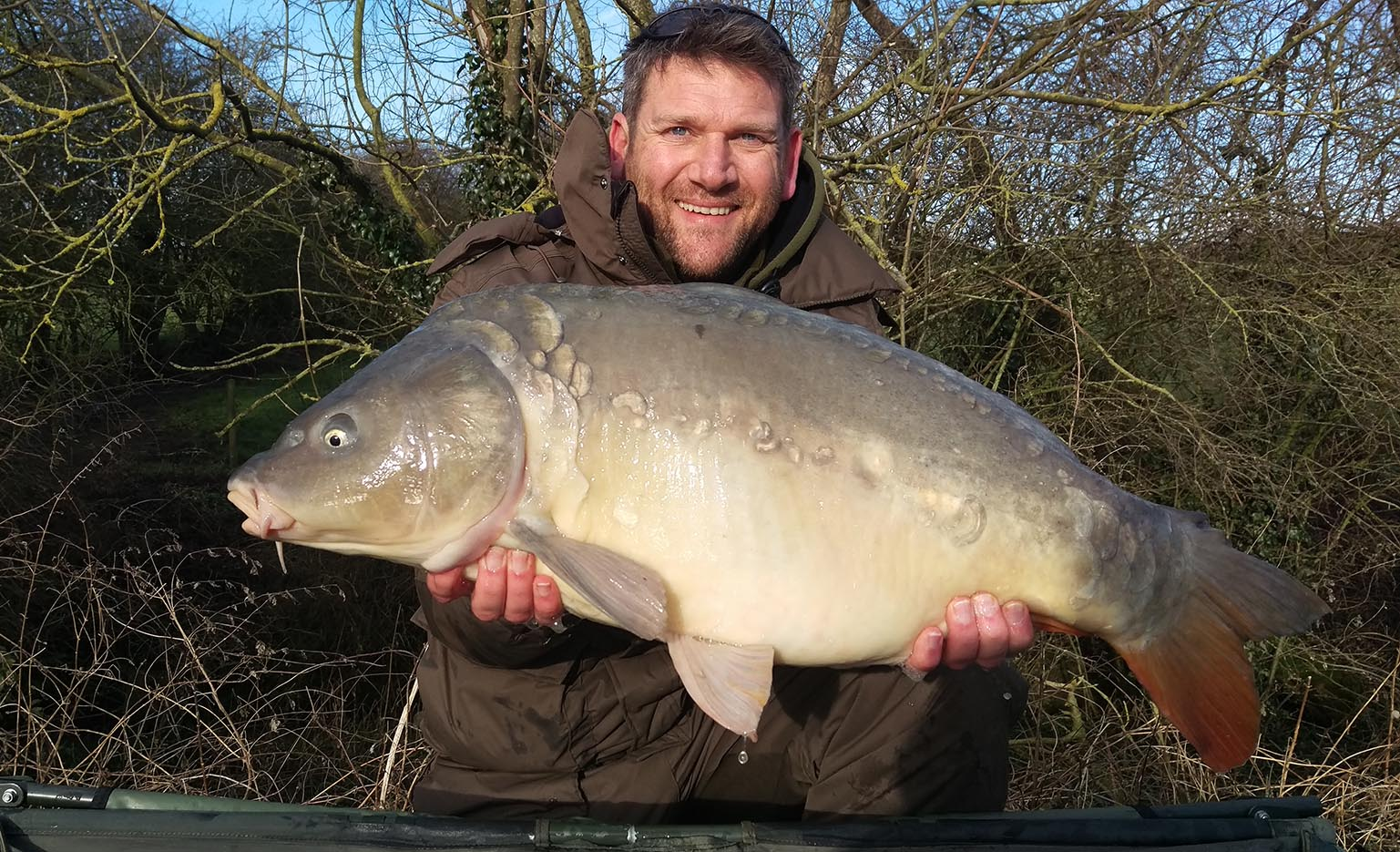 Rob Goddard - Field Tester - 25lb caught on Dynamic Washed Out Mango & Cream Boilies