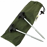 FO BIVVYPEGS 150x150 - 10 x 20cm Bivvy Pegs and Case