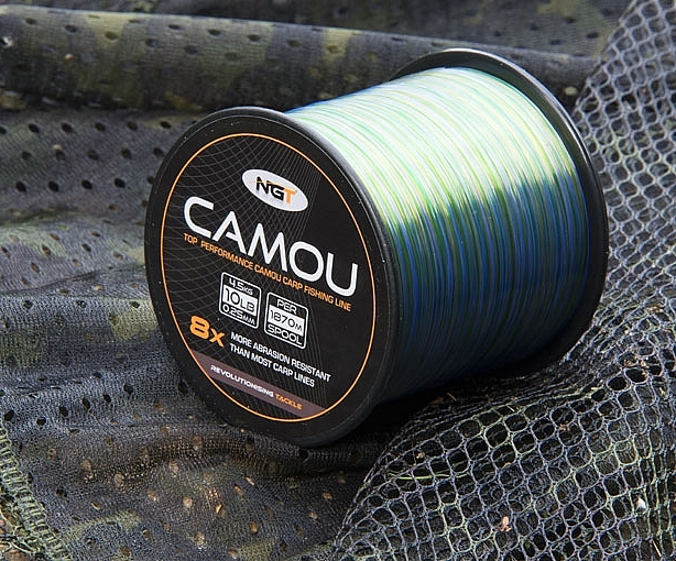 NGT Camou Fishing Line
