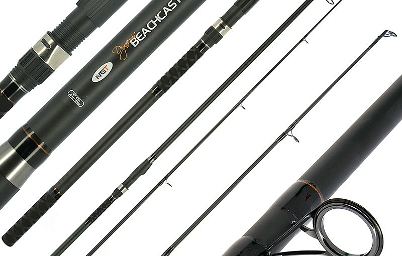 Beachcaster 12ft 2PC Beach Rod 4-6 OZ Sea Fishing /& Reel Combo With Line