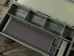 NGT Carp Tackle Box with Rig Board