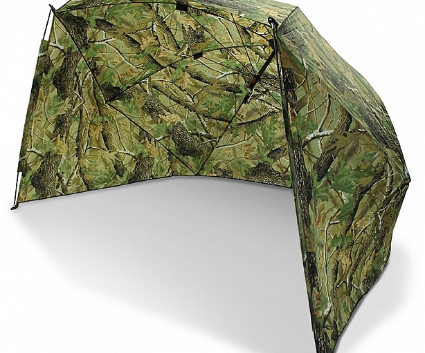"""50"""" Camo Storm Brolly with Sides"""
