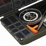 Details about  /NGT XPR Fishing Tackle Box Terminal Tackle System Carp Box for Hooks Swivels etc